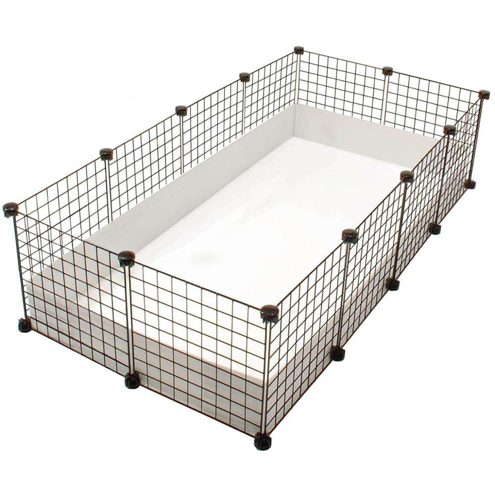 Tùy Chỉnh Nhựa Guinea Pig Cage Coroplast Cage Guard