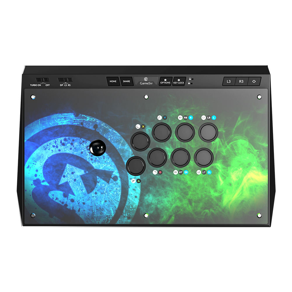 GameSir Universal Arcade Fightstick Cho Android, PC, PlayStaton4, Cho PC Và Xbox One