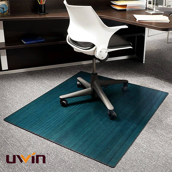 protective mat splat under the office high desk bamboo chair transparent chair mat for hardwood floors