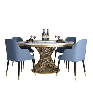 modern coffee table marble dining table 10 seat stainless steel table