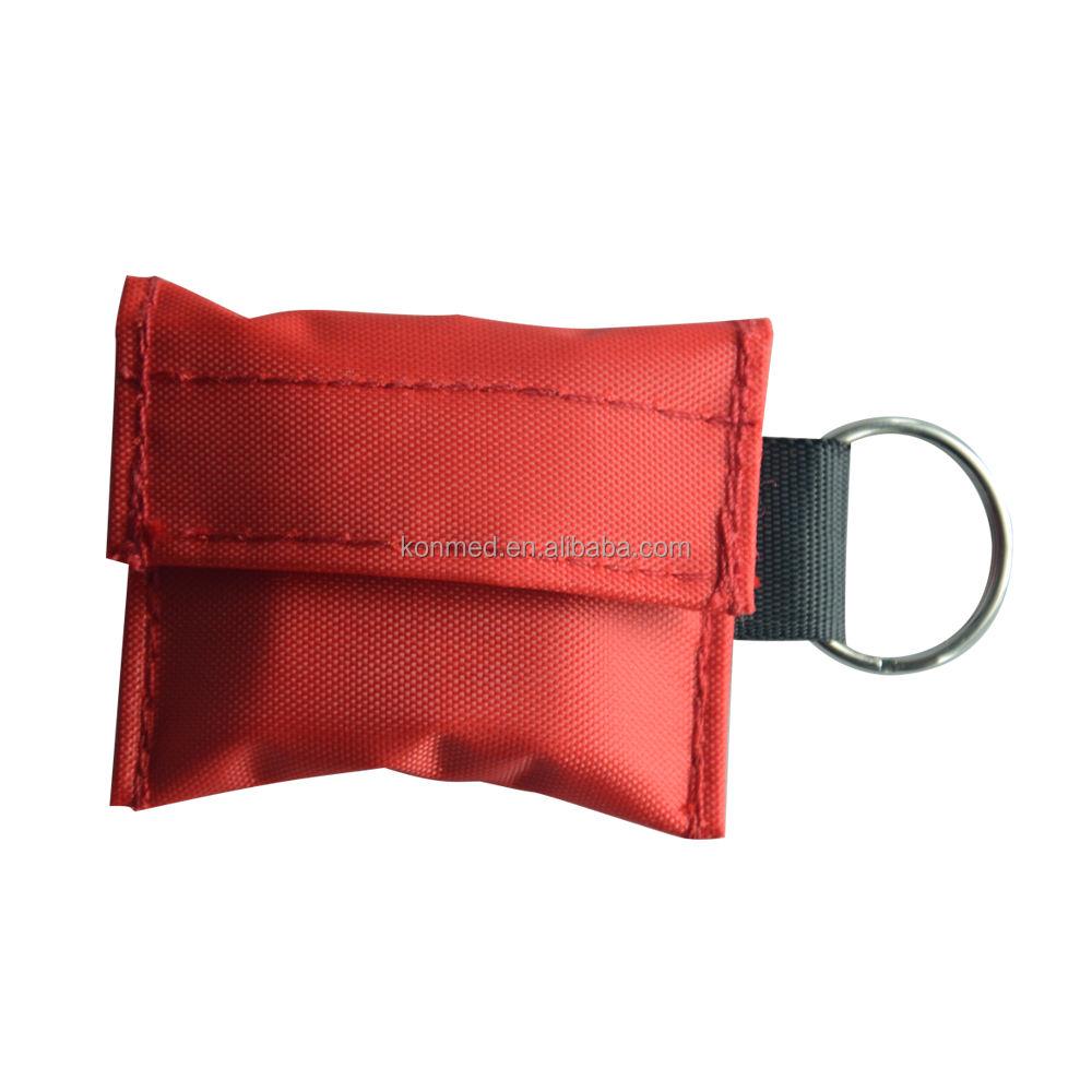 Heißer verkauf nylon taschen verpackung <span class=keywords><strong>CPR</strong></span> gesicht schild mit atmen eine möglichkeit ventil maske