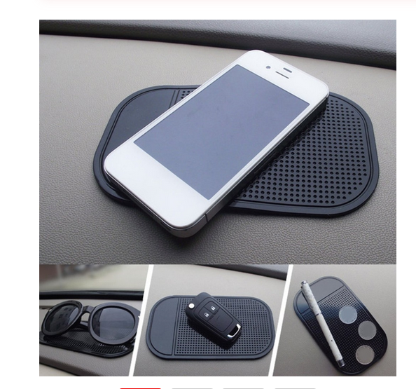 QIYUAN Anti-Slip Car Dash Sticky Gel Pad Non-Slip Universal Mount Holder Mat Washable Silicone Gel Pad Car Accessories