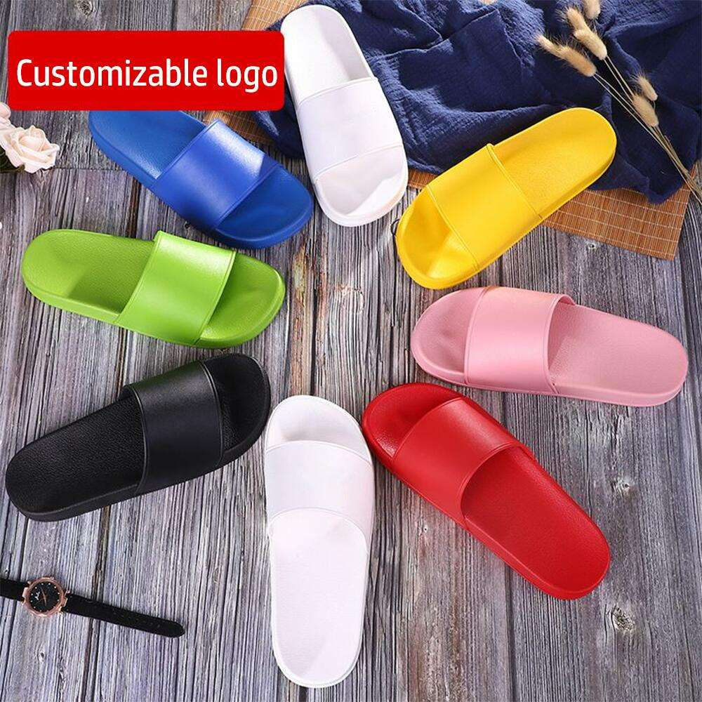 new style both size for man and women slipper Custom Logo Slides outdoor beach slippers big size wholesale