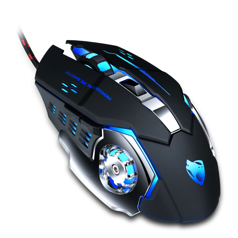 YM campione Gratuito 2021 whosale wired gaming <span class=keywords><strong>mouse</strong></span> con retroilluminazione A LED 6D ottico gaming <span class=keywords><strong>mouse</strong></span> <span class=keywords><strong>del</strong></span> computer