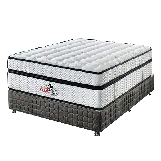 Spring Bed Mattress 12Inch High Quality Pillow Top Pocket Spring Foam Latex Breathable And Comfortable Bed Mattresses Factory OEM ODM Service