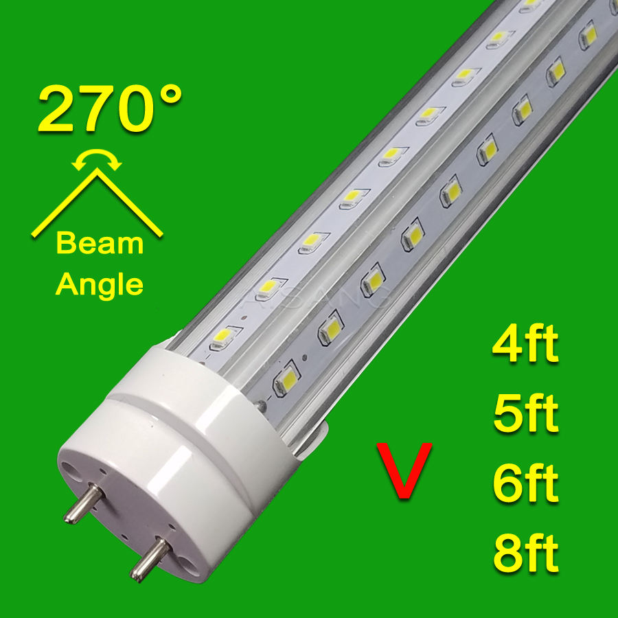 Advance lighting G13 T8 Cooler Lighting AC 85-265V With All accessories V Shape Led Tube Light