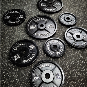 power lifting barbell bumper competition gym equipment fitness weight plate