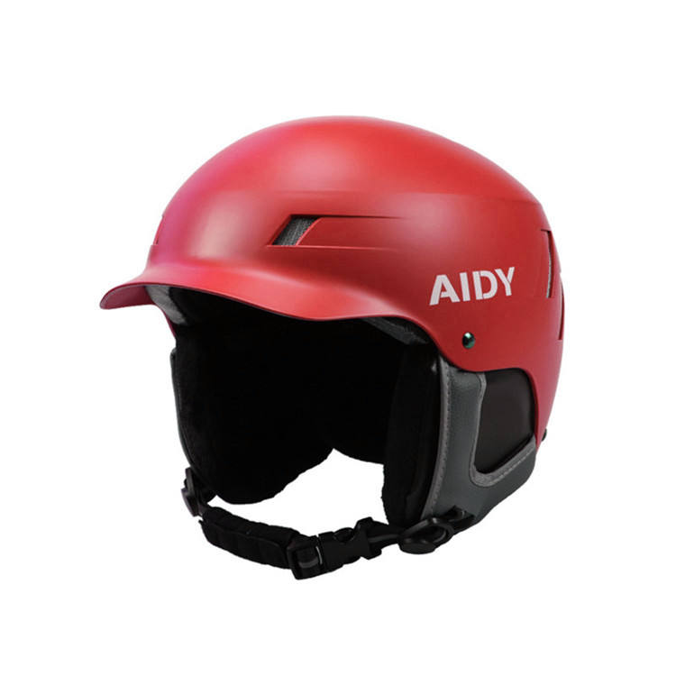 AIDY Adjustable Multi-Sport ABS+EPS Out-mold Ski Helmets with Peak & Visor for Youth Adult Ice Sport Snow Snowboarding Helmets
