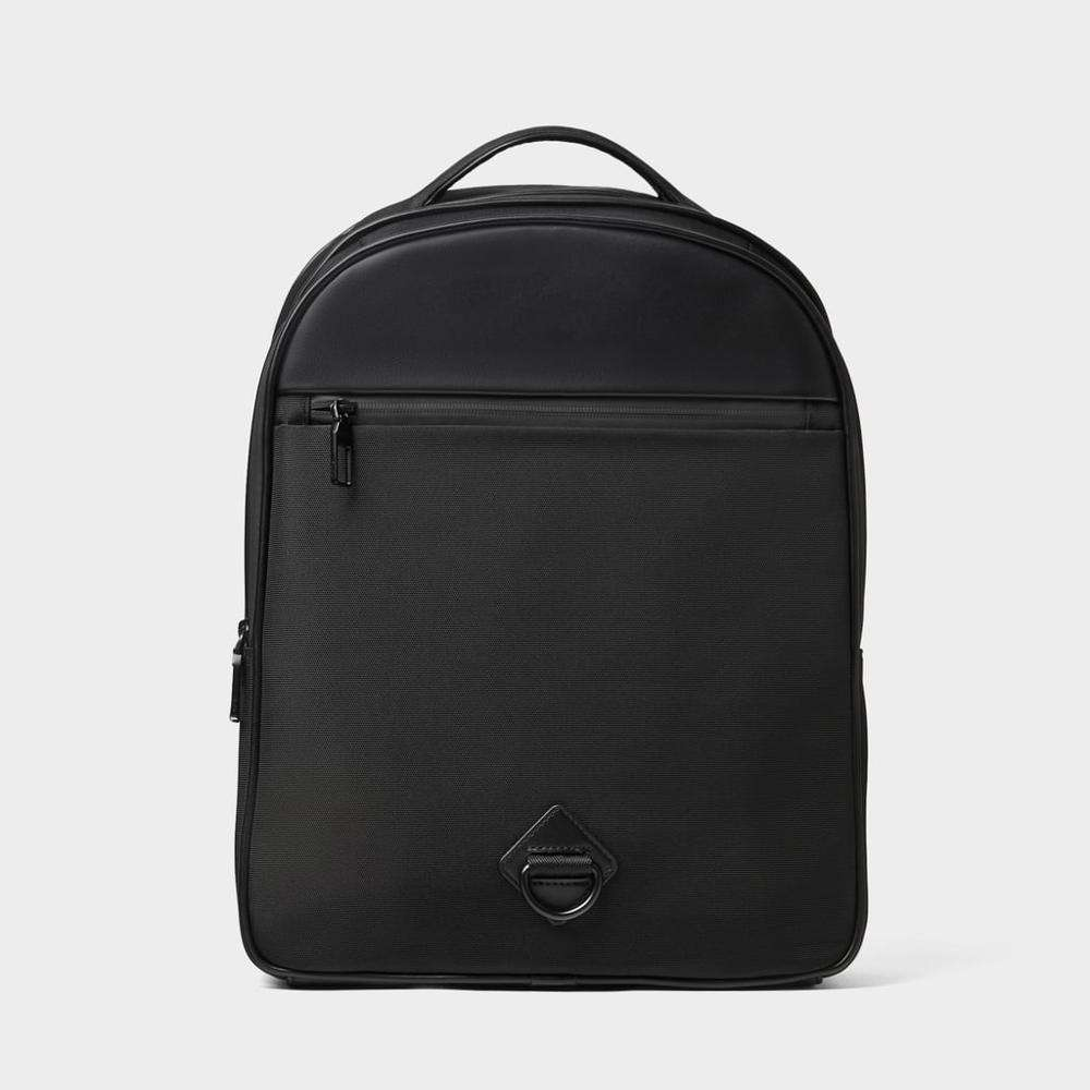 Black multi-purpose backpack PVC school laptop bags for men backpack custom trend waterproof sports backpack