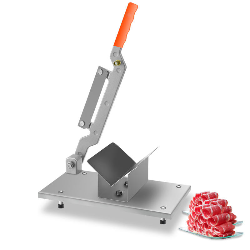 HR-06 Handleiding fresh <span class=keywords><strong>bacon</strong></span> vlees snijmachine machine Roestvrij staal commerciële <span class=keywords><strong>bacon</strong></span> slicer