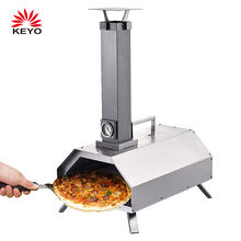 Wood Pellet Outdoor Oven Mini Pizza Stone Steel Stainless OEM Pizza Oven