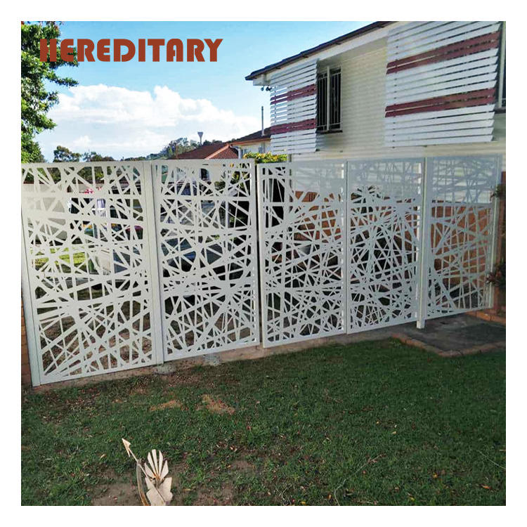 New design garden main laser cutting gate indian style automatic sliding gate design