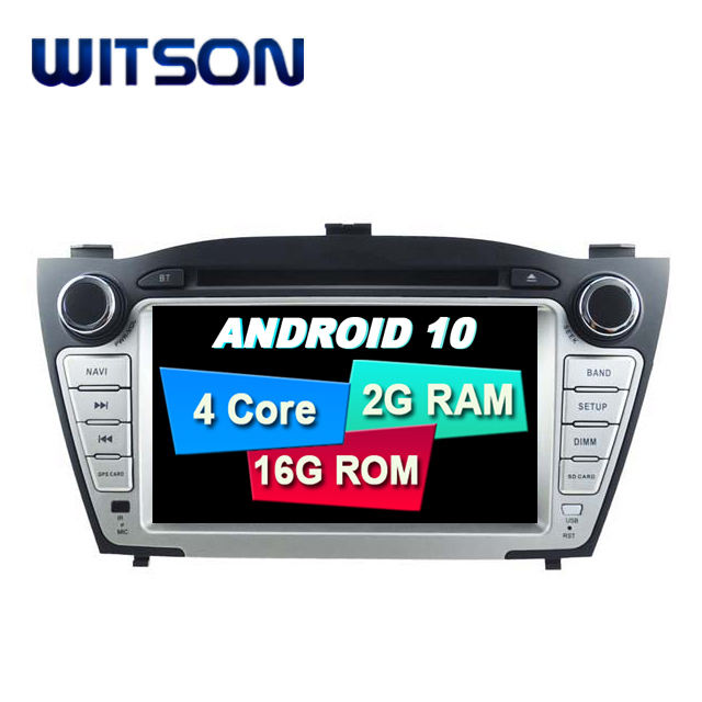 WITSON Android 10.0 DVD Car Player For HYUNDAI TUCSON ix35 2009 2010 2011 2012 2013 Car Radio