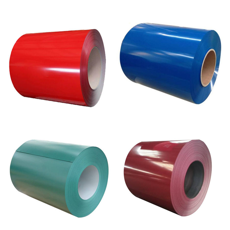 Cold Rolled Color Coated PPGI Prepainted Galvanize Steel Coil Roll Price Roofing Sheet PPGL