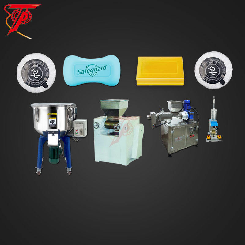 Production equipment small laundry toilet bar soap making production line