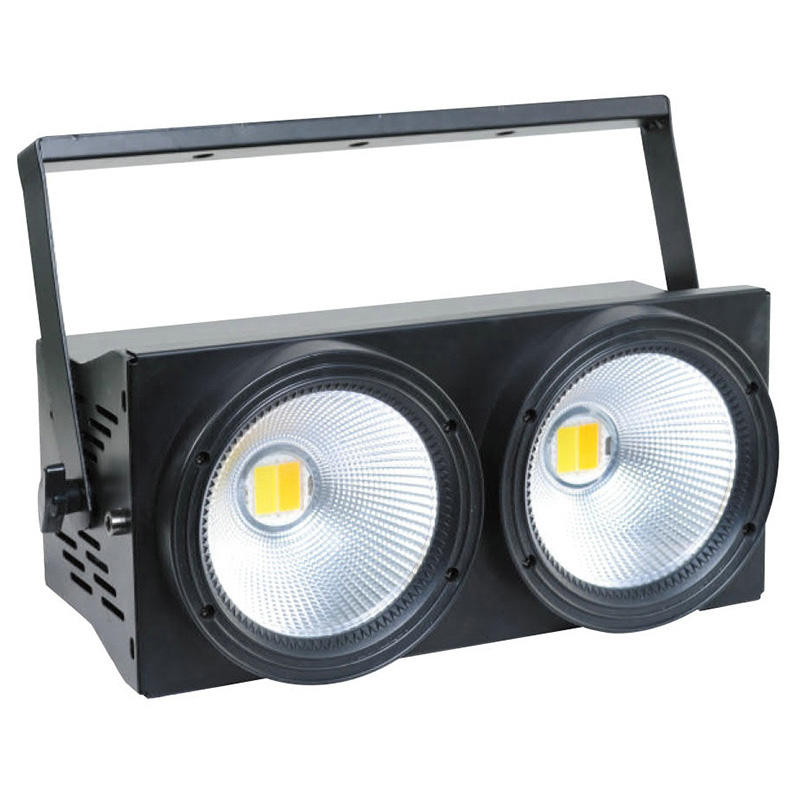 100 W 2 COB LED Blinder Stage Disco DJ ล้างไฟ warm white 2 in 1