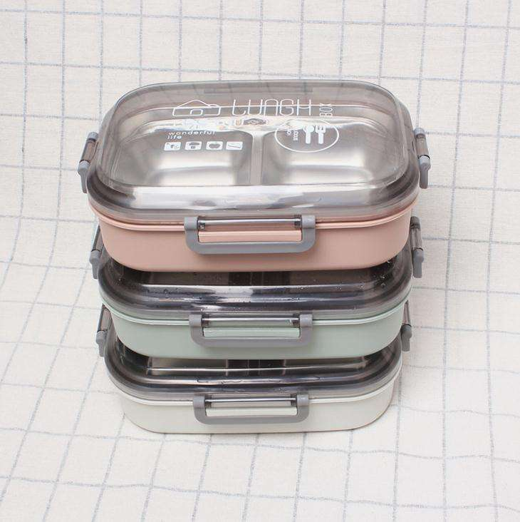 wholesale high quality Stainless steel double wall insulated adult lunch box