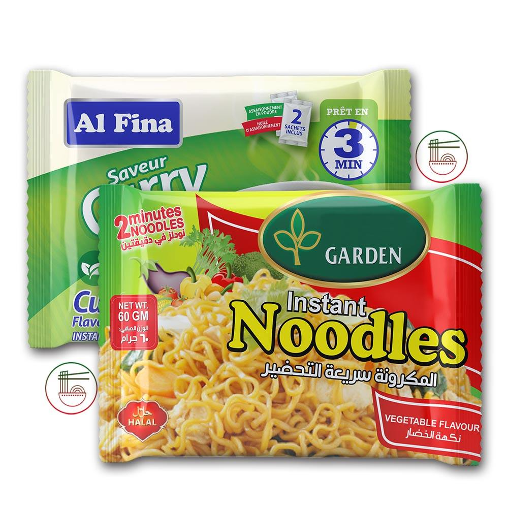 Wholesale Diabetic Food Low Calorie Packaging Chicken Flavor Food Fried Instant Noodles