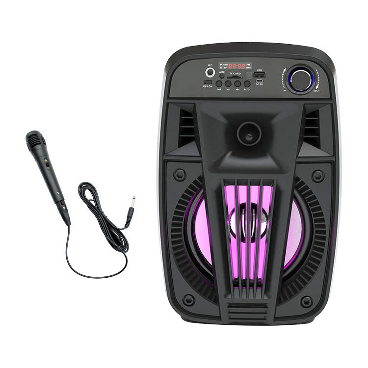 CD 101 BT karaoke wireless bluetooth portable dj party speaker