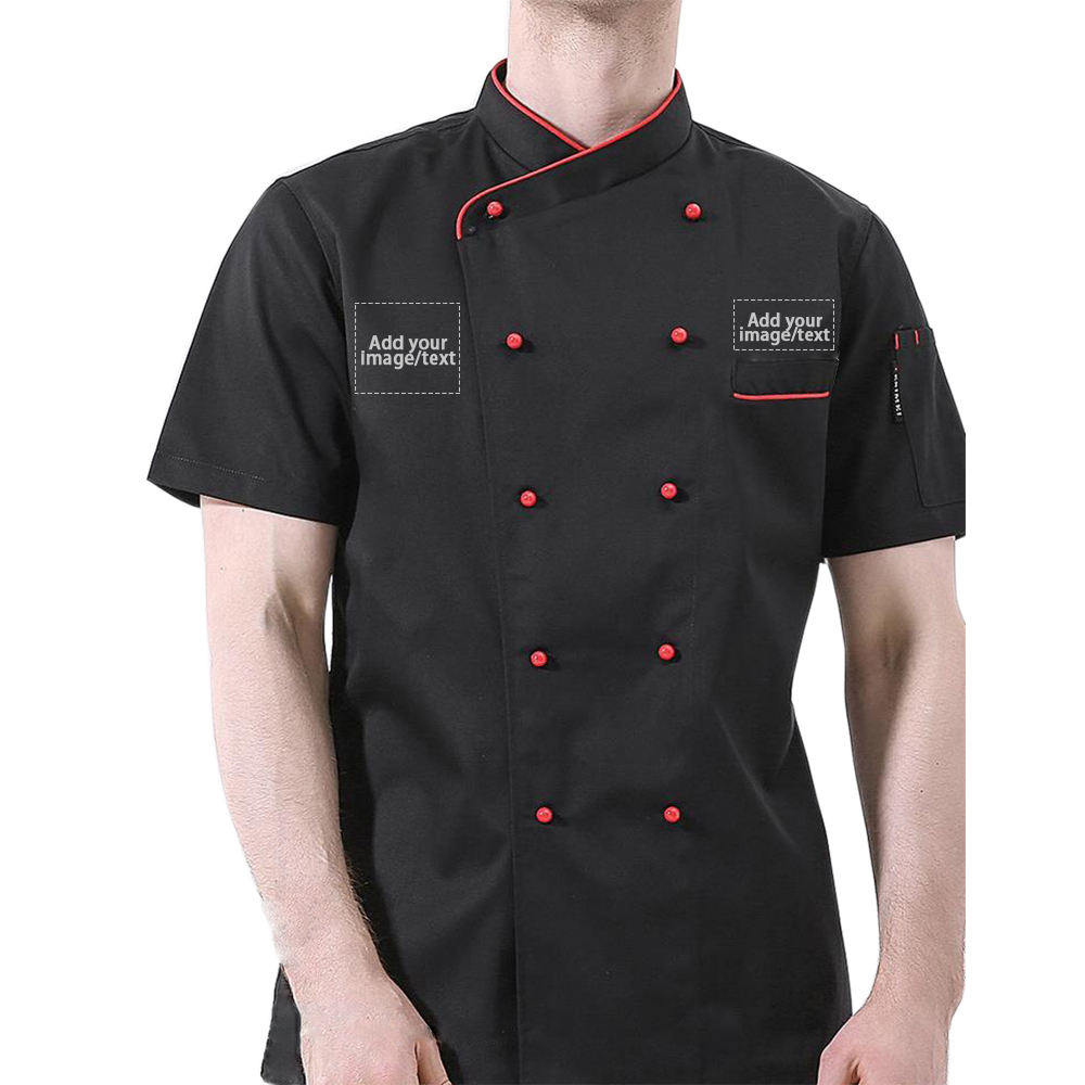 Personalized Customized Chef Jacket Hotel Kitchen Restaurant Chef Coat