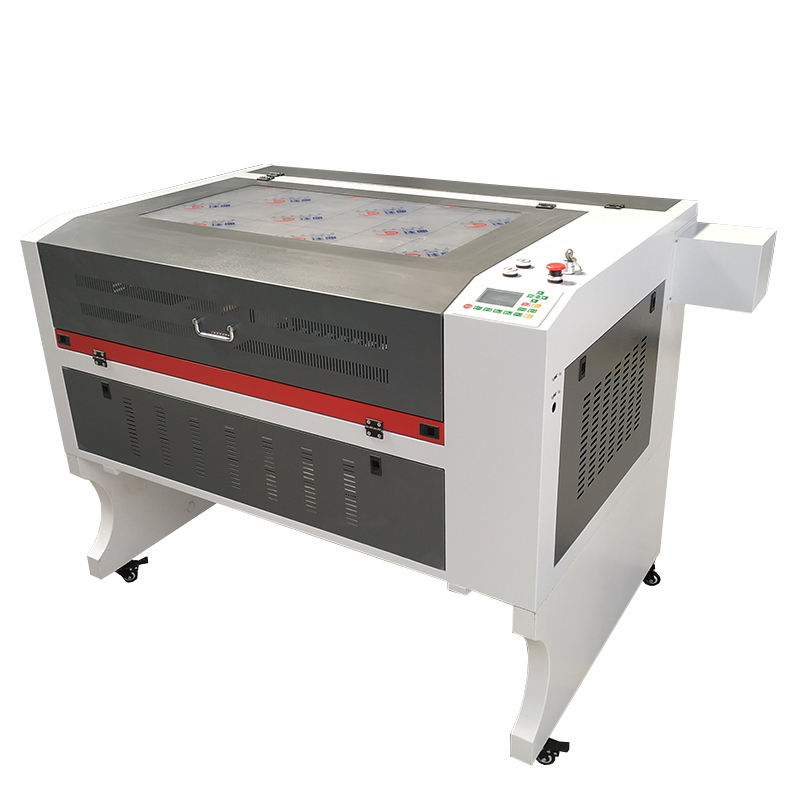 9060 laser engraving cutting machines 60w 80w 100w wood acrylic cnc laser engraver 6090 ruida 6442s front to rear design
