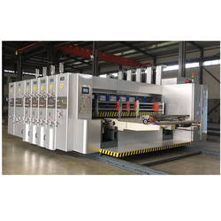 Automatic 4 color carton box printing machine