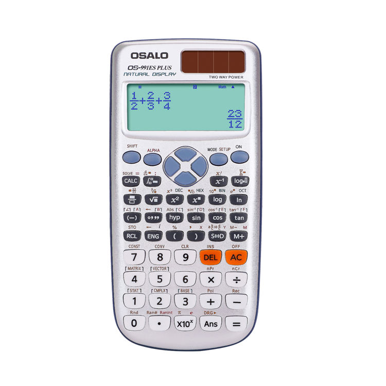OSALO OS - 991ES plus Solar and battery scientific calculator with 417 function suitable for college student