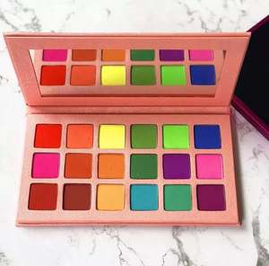 Cosmetics private label pigment high nice pallet eyeshadow palette