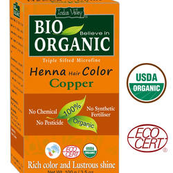 Bio Organic Copper Henna Hair Color
