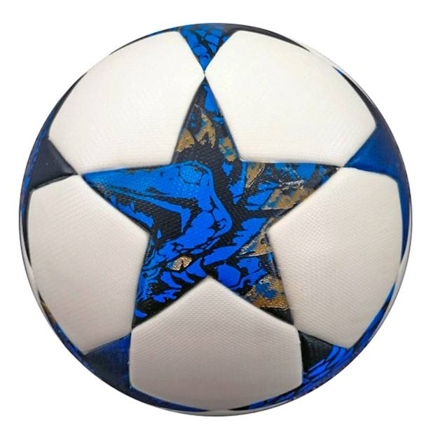 Commerce de gros en cuir PU fondu ballon de football taille 5 balle ballon de football <span class=keywords><strong>personnalisé</strong></span>