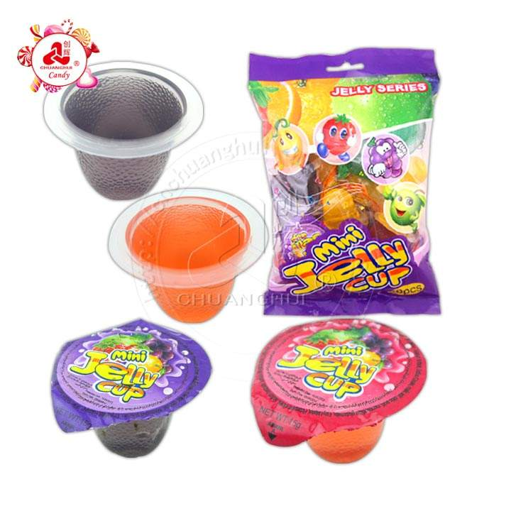 Fruity Jelly Cup / 20pcs per bag 15g Mini Jelly Candy