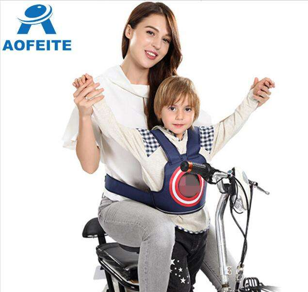 Riding on Motorcycle Security Belt Kids / Motorcycle Safety Strap Children Seats Belt