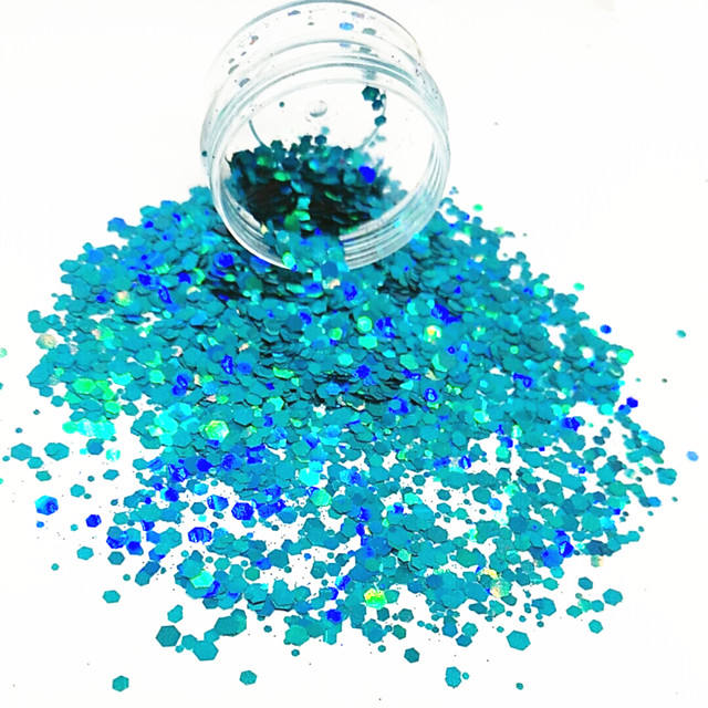 Mixed size chunky polyester Glitter Poeder | Nail poeder | DIY craft | Gelegenheid: Bruiloft, Festival, party, Club