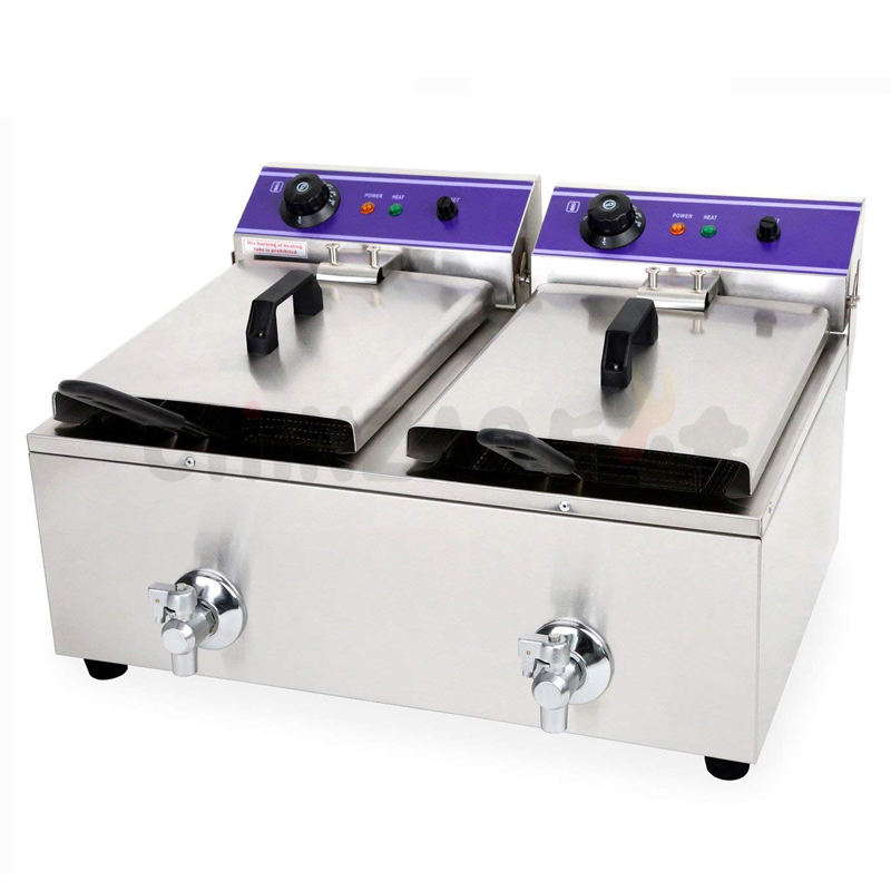 CHINA Supplier Commercial Automatic Electric Deep Fryers For Sale