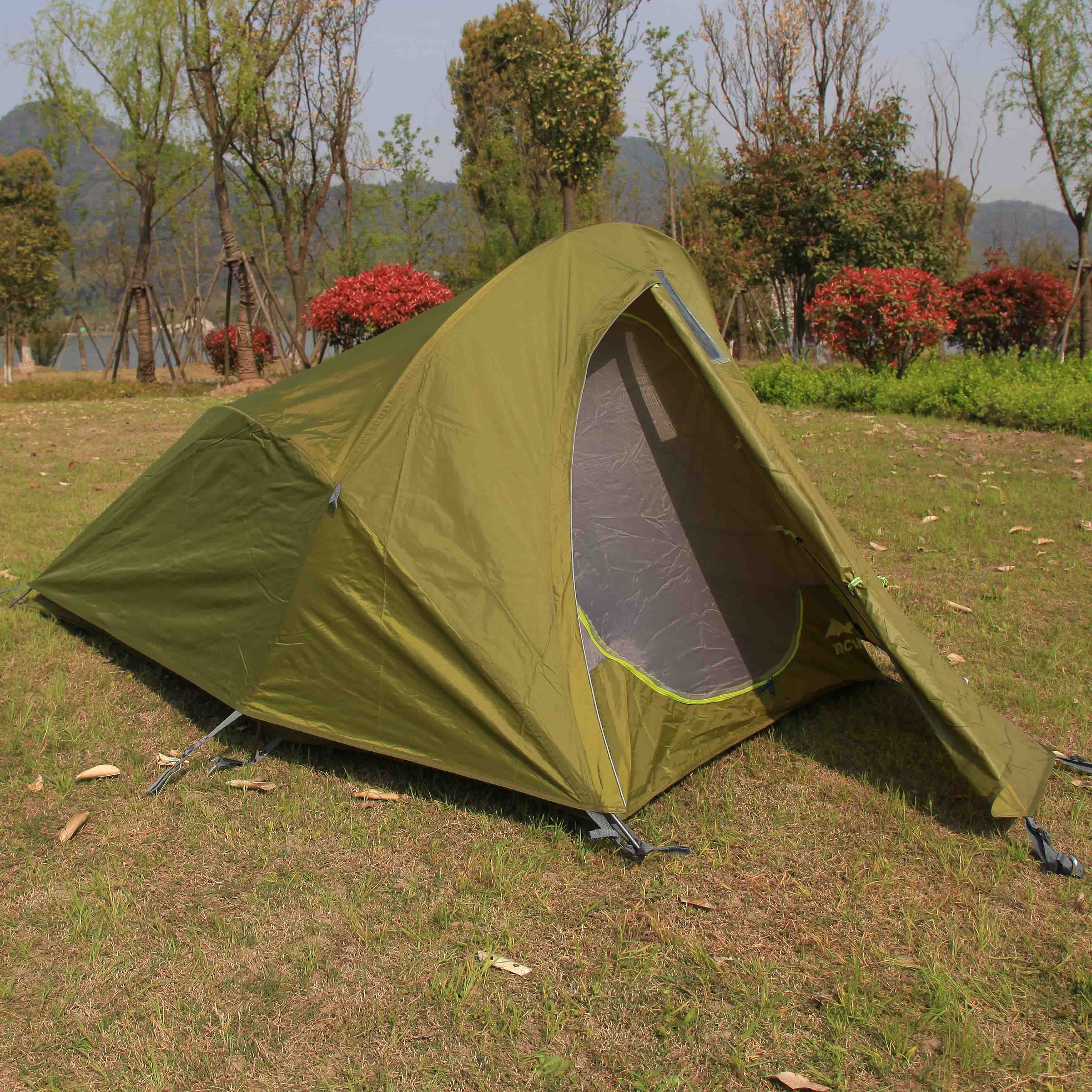Outdoor high quality hiking 1person camping Solos tent (RTS 1601)