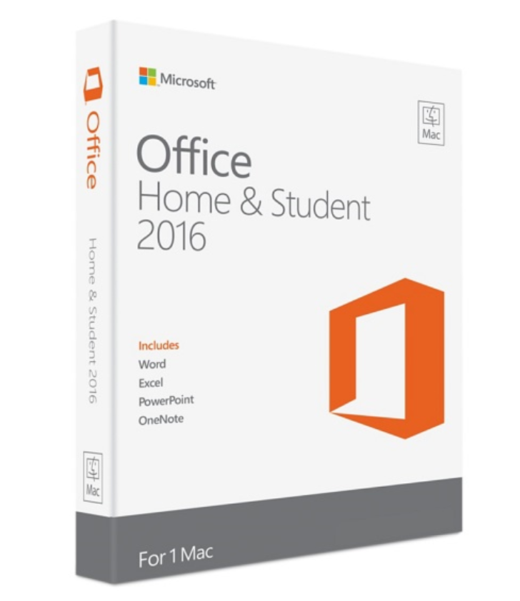 Microsoft Office Home And Student 2016สำหรับ Mac 1 PC