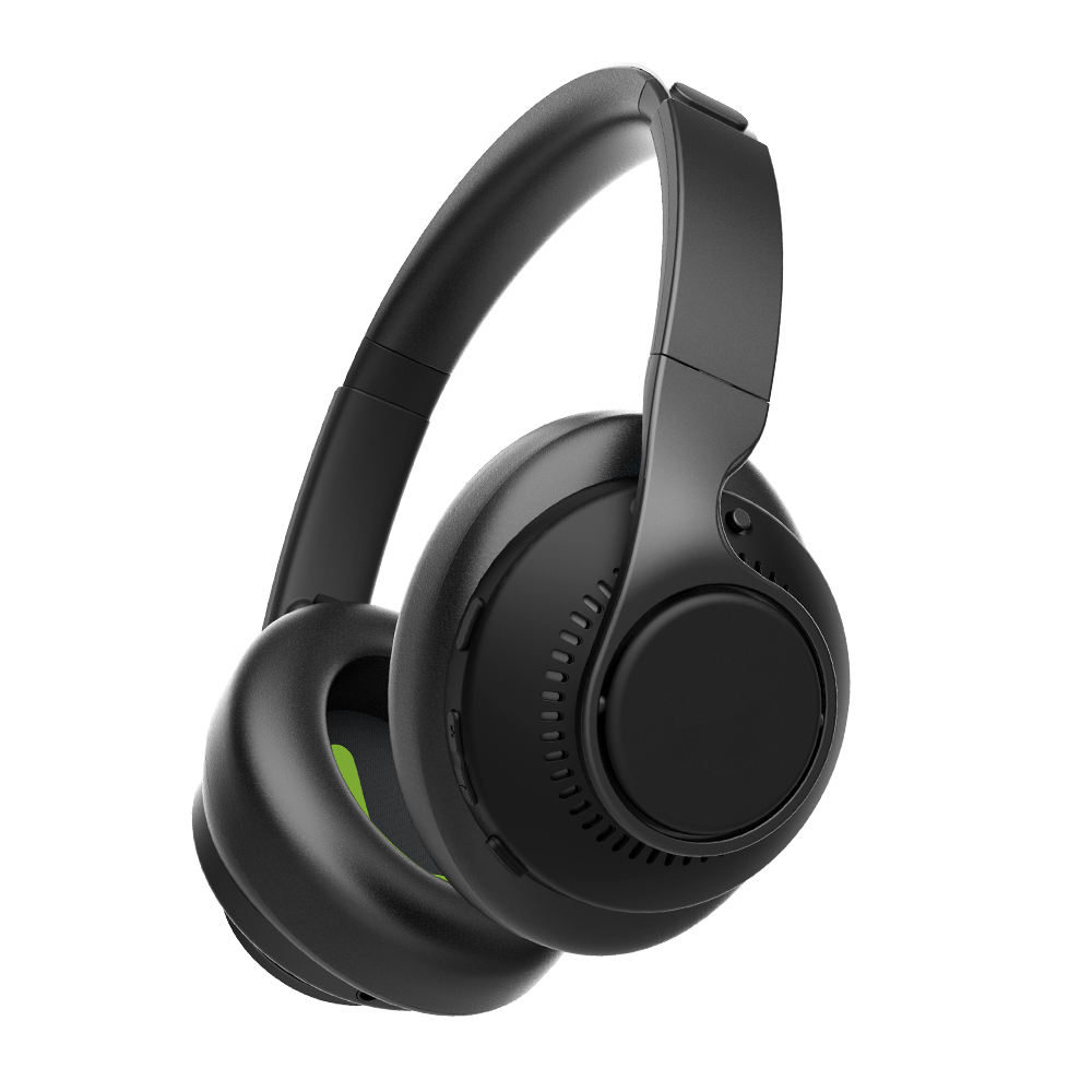 Trip Fast Charge 30 Hours Playtime Lightweight Active Noise Cancelling Bluetooth ANC Headphone