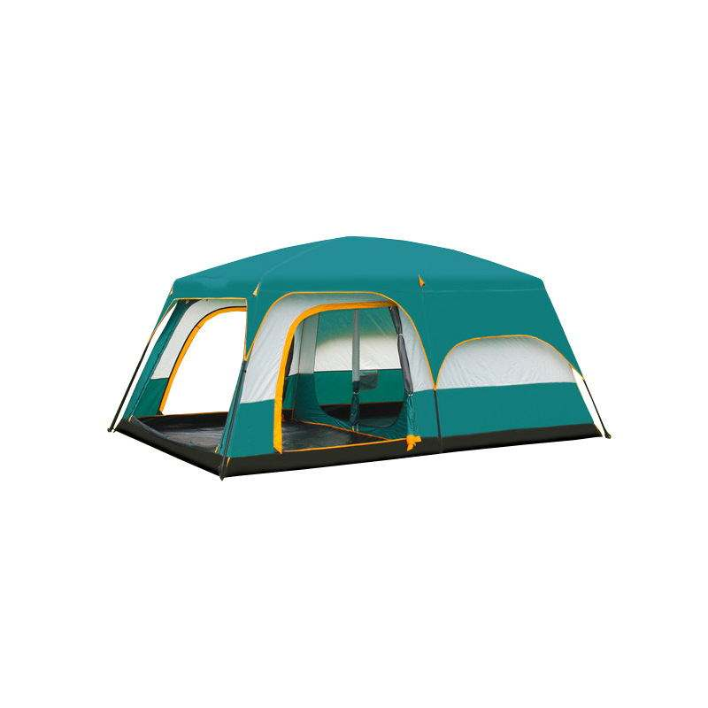 China Big Factory Good Price ultralight pyramid automatic camping tent 6 person family