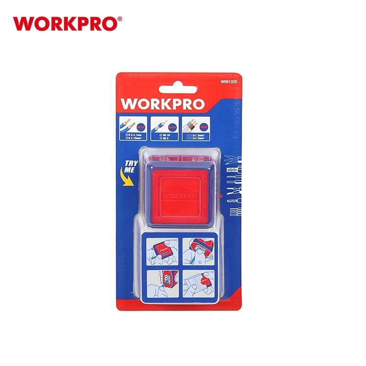WORKPRO W091025 3PC SET Magic Box Professional Electrician's Tool Wire Strippers Crimping tool