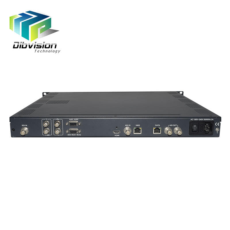 1-channel HD <span class=keywords><strong>dvb</strong></span> ip mpeg 4 SD HD isdb-t encoder AC3 AAC audio sdi mpeg2 encoder CC Closed Caption