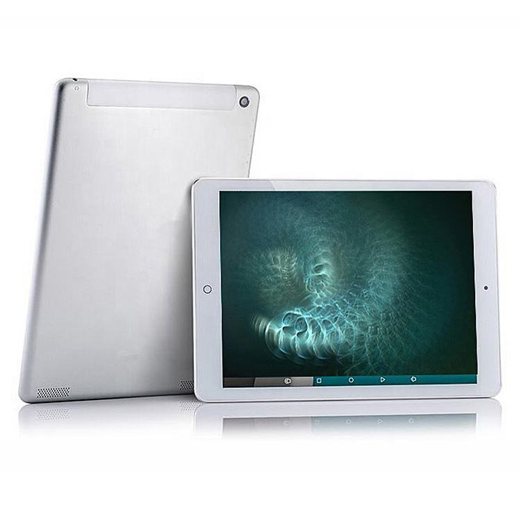 High end 9.7 inch Touch Retina screen Tablet PC with 2G Ram 5M camera metal cover 4K video play