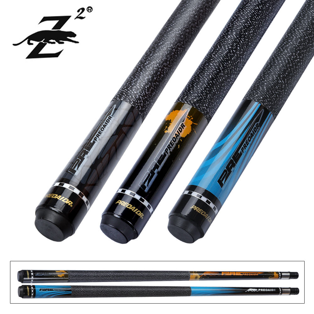 PREOAIDR 3142 Z2 Biljart Pool Cue 11.5mm 13mm Tip Uni-lock Maple As Ierse Linnen Wrap Billiar keu Kit Voor Dropshipping