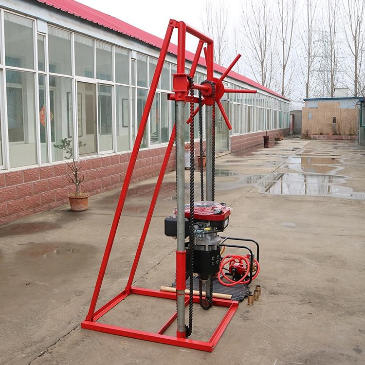 For Energy Sample Drill Rig Small Type Machinery Drilling Equipment Diamond Core Sample Drilling Rig