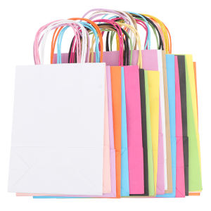 Low cost factory direct sell new style eco luxury cardboard paper bag