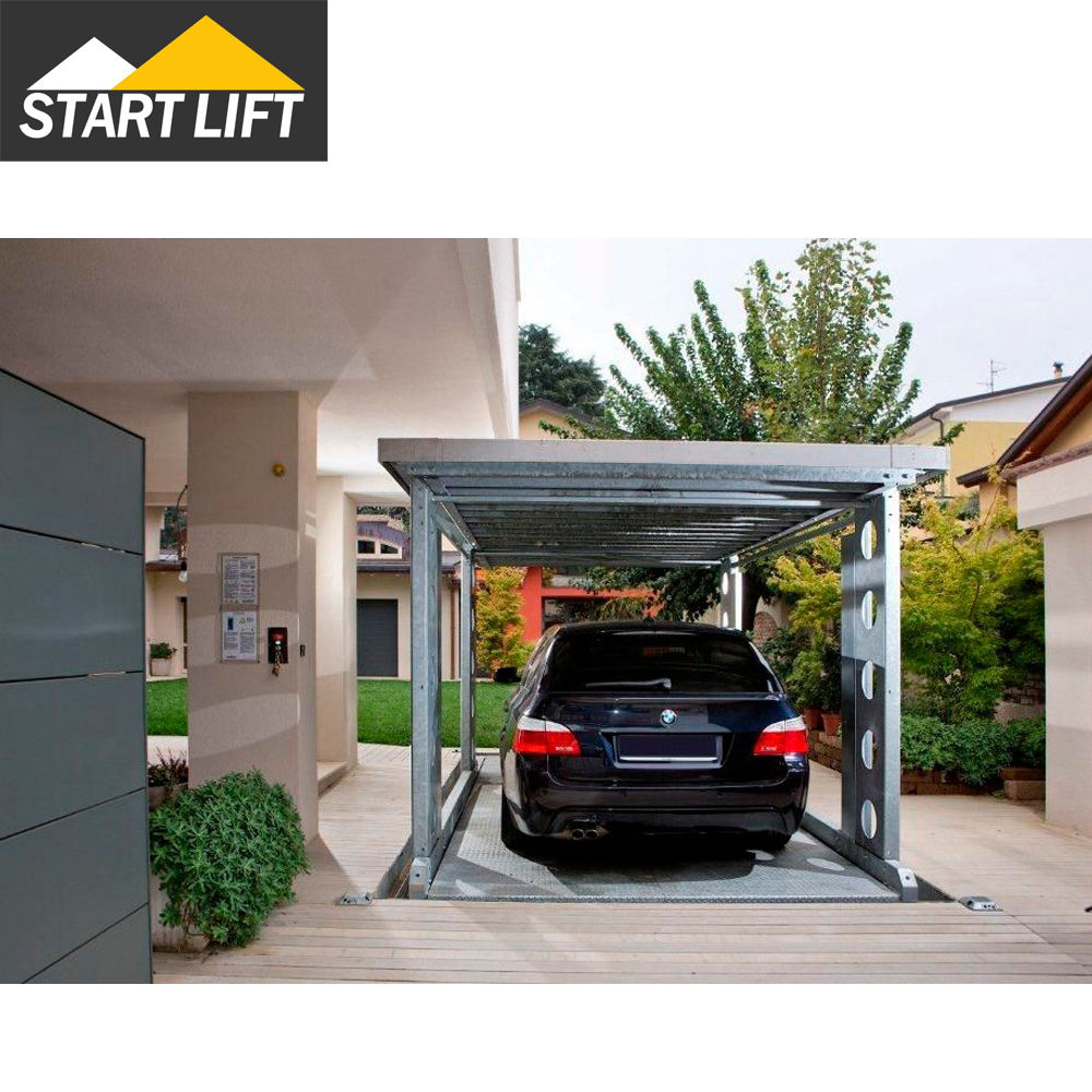Electric Mechanical In ground floor used home garage scissor hydraulic car lift for service station