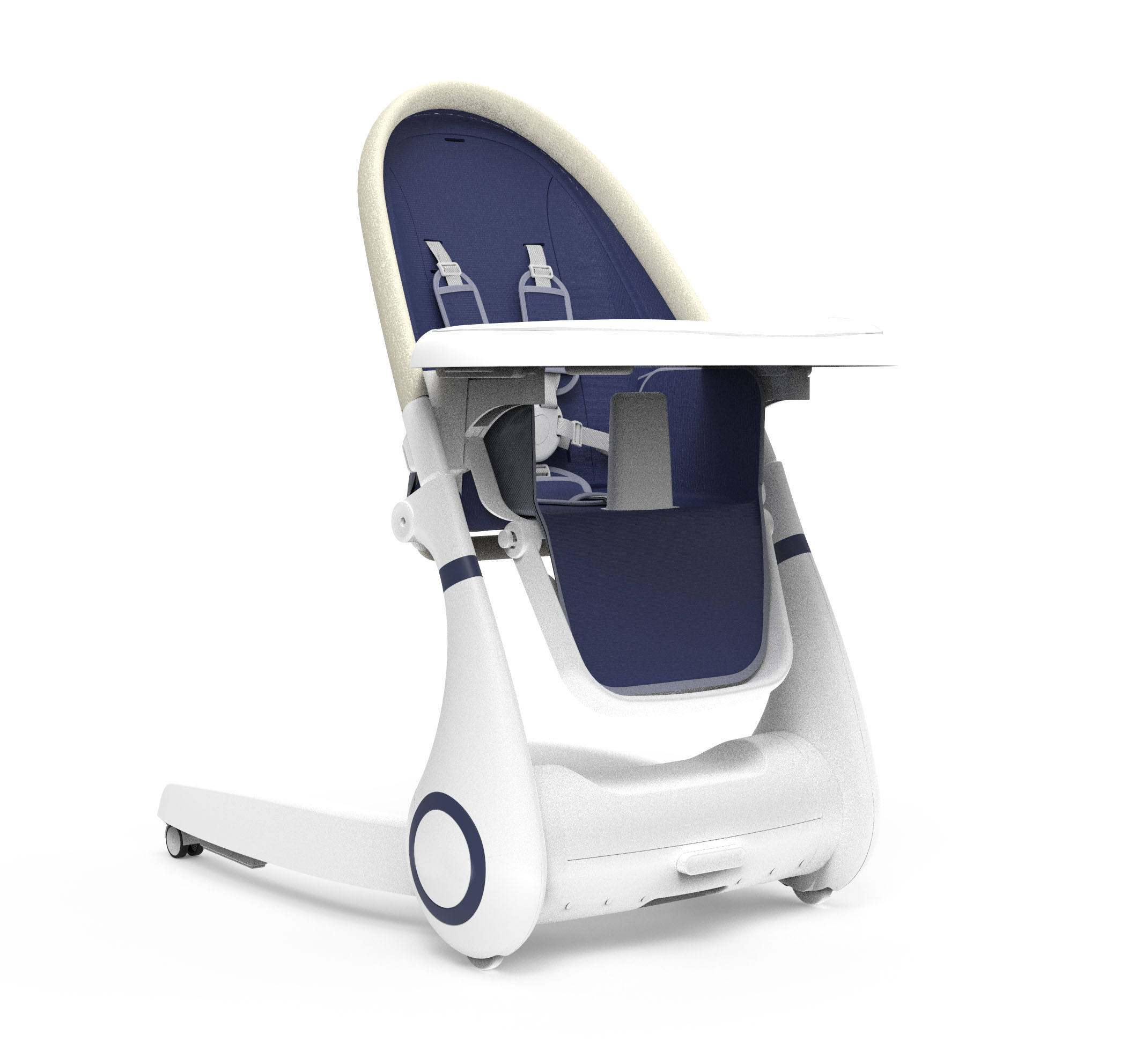 2020 New design baby high chair 4 in 1 plastic feeding baby food chair multi-functional baby high chair