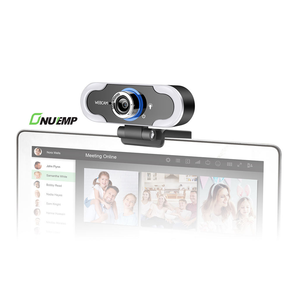 Pc Mini Live Streaming <span class=keywords><strong>Camera</strong></span> Chat <span class=keywords><strong>Camera</strong></span> 1080P Live Webcam Met Ring Licht Microfoon