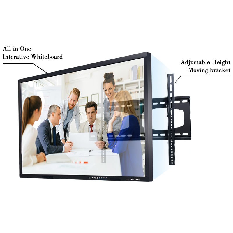 65 Inch Elektronische All In One Touch Screen Computer/Smart Board Interactive Whiteboard Voor Onderwijs