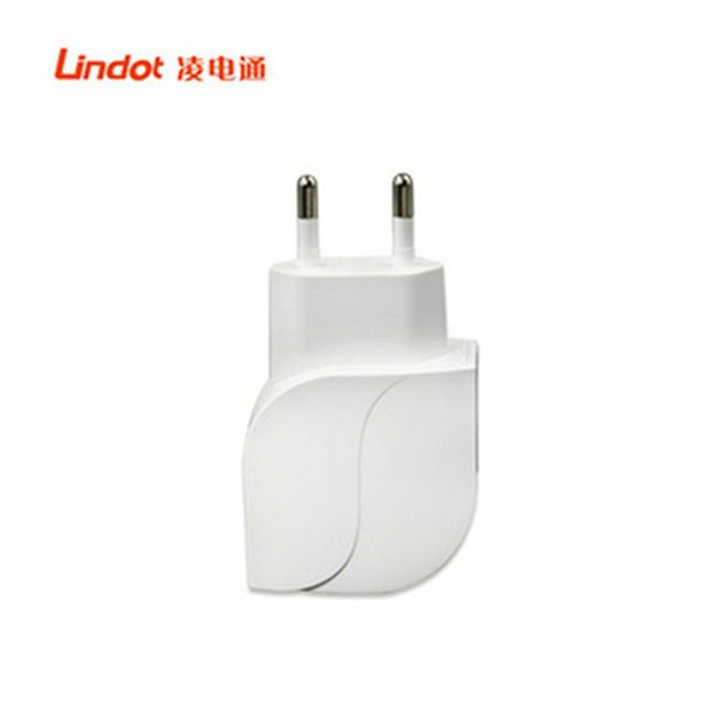 2 USB Home Timer Charger Adapter 5V 2.4A with Folded US EU Plug from the Shenzhen Factory offer OEM Order