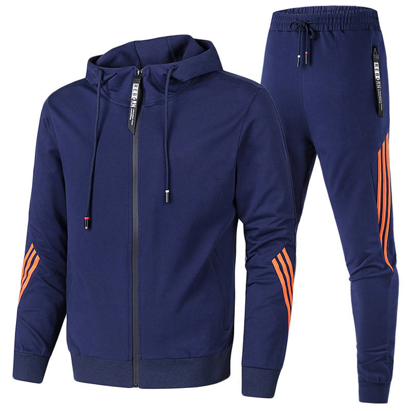 Custom Men Slim Fit Track Suits Tracksuit Sportswear gyms Sweatsuit set Track Suit